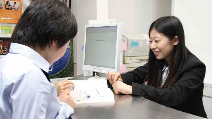担任制で安心できる学生生活